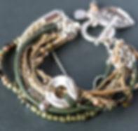 Chice Designer-Armbänder Multi-Strand Boho-Style - Unikate