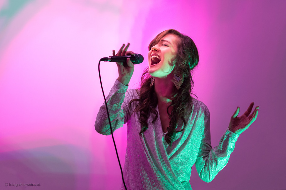 Fotoshooting Sängerin Moni Rose
