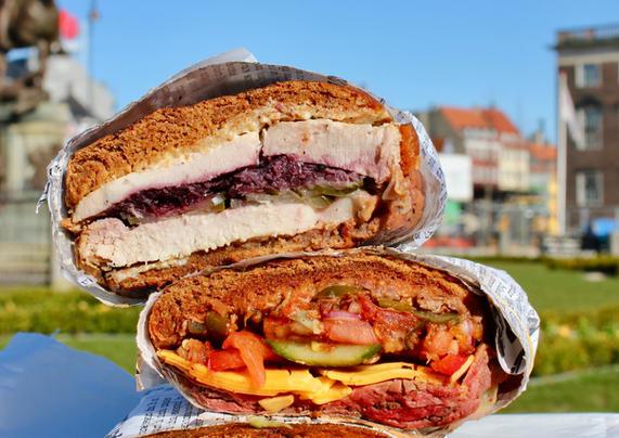 Sandwich-tårn på Kongens Nytorv