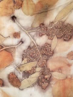 Printed Silk Detail