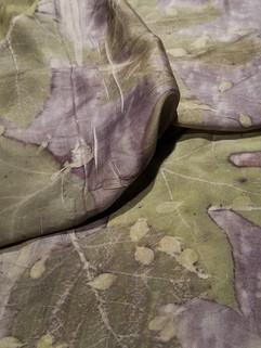 Oak Leaf Hydrangea on Silk