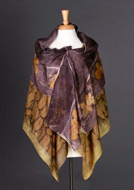 Black Walnut & Oak Silk Wrap