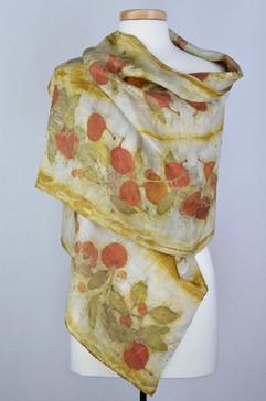 Eucalyptus & Rose Silk Scarf