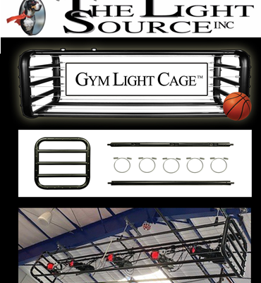 Gym Light Cage by The Light Source