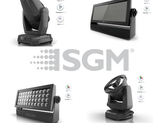 SGM fixtures perfect for any outdoor event!