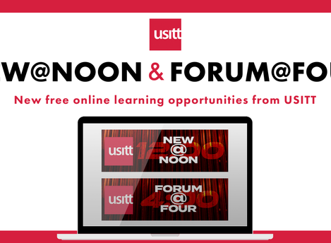 USITT Webinar Series - New@Noon and Forum@Four