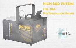 High End Systems - HQ-100 Performance Hazer