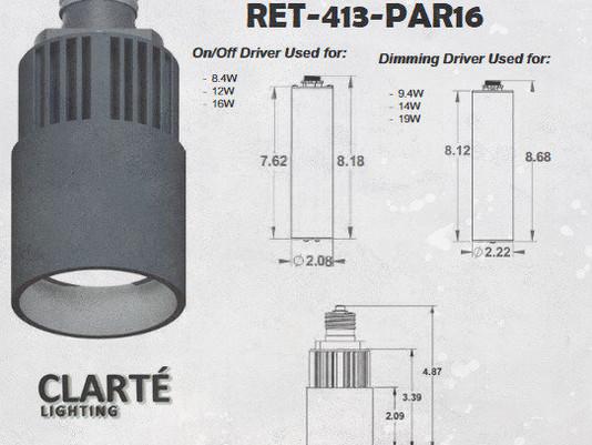 Clarté Lighting - Retrofit Recessed Fixture