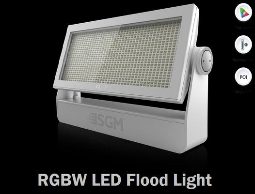 IP66 LED Flood Light: SGM Q-7 POI