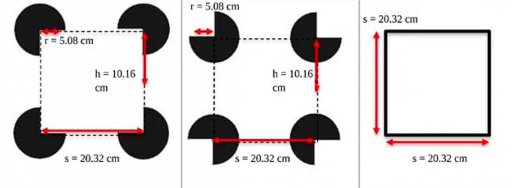 Bodenobjekte Experiment Katzen optische Täuschung