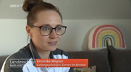 SWR Landesschau Katzenpsychologin Veronika Wegner