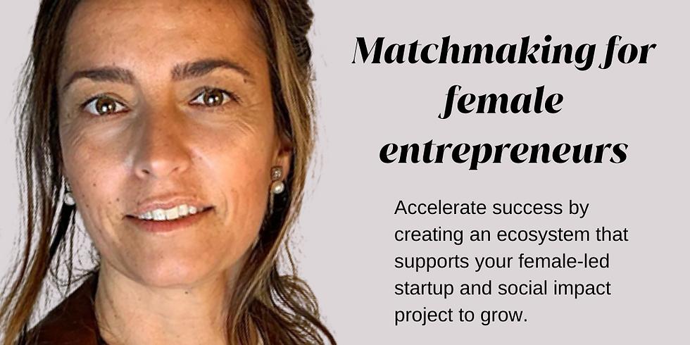 Matchmaking for female entrepreneurs