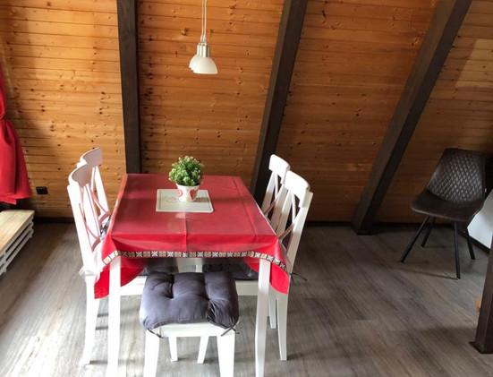 Ferienhaus am Katzenbuckel - Essbereich