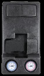 PrimoTherm 180-3, DN25, zawór temperaturowy 45 °C, bez pompy