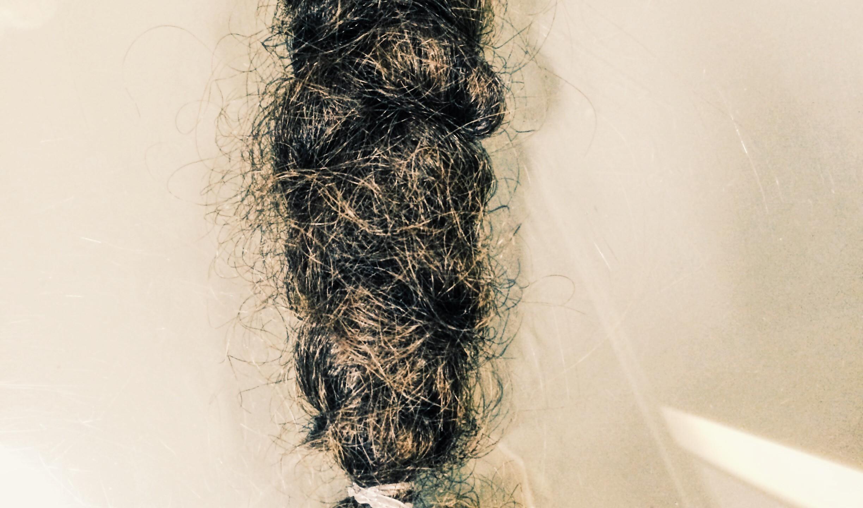 Freshly cut braid