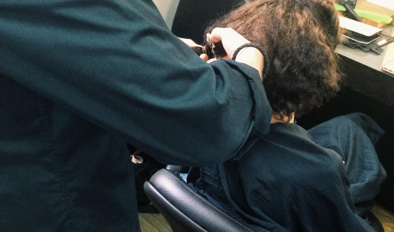 Cutting the braids