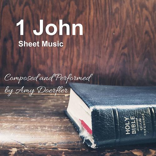 1 John Lead Sheet (PDF)