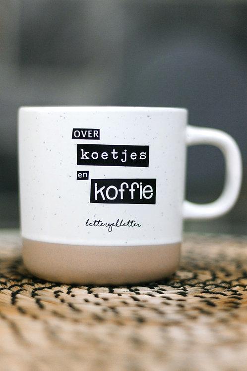 over koetjes en koffie - mok