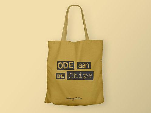 ode aan de chips - totebag