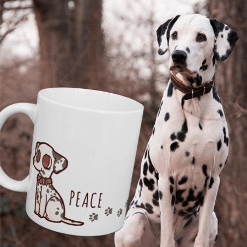 愛犬キャラマグカップ