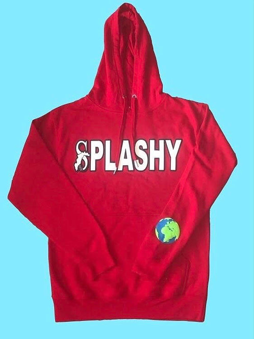 """""""The World is Yours"""" Red hoodie"""