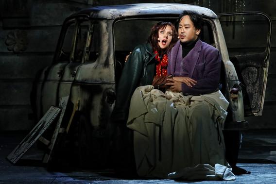 Mimi, Opera Australia 2018, with Ho-Yoon Chung as Rodolfo