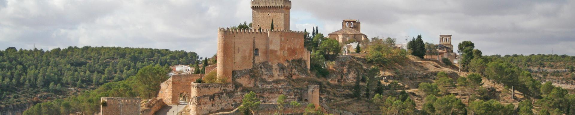 Castle of Alarcon, Spain