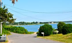 View at driveway of NausetBeachHouse