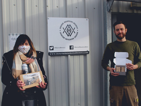 Local Businesses Collaborate to Create Mourne Mountains Brew Soap Bar