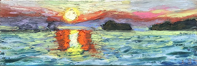 """""""Andaman Sea sunset"""""""