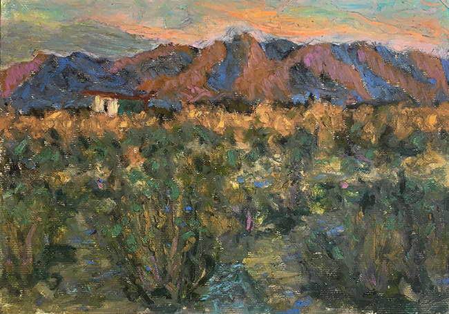 """High Desert Last Light"""