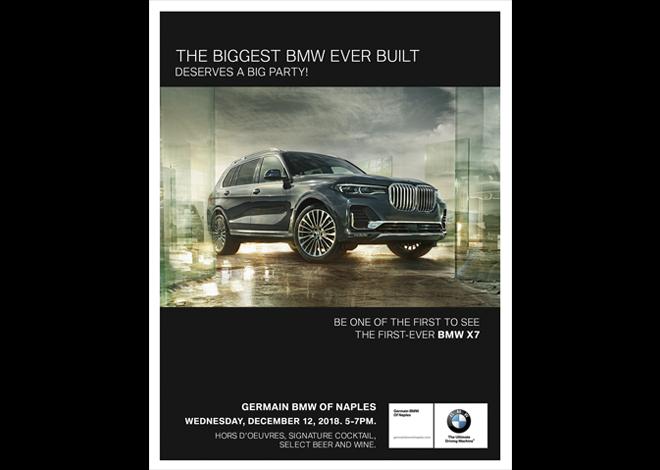 Germain BMW X7 ad