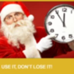 Vision Source Santa Use It Don't Lose It