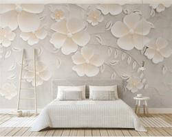 Beibehang-Custom-wallpaper-beige-embosse