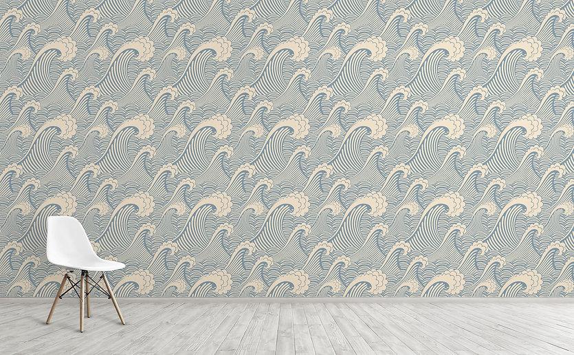 w0263_1s_Nautical-Waves-Wallpaper-for-Wa