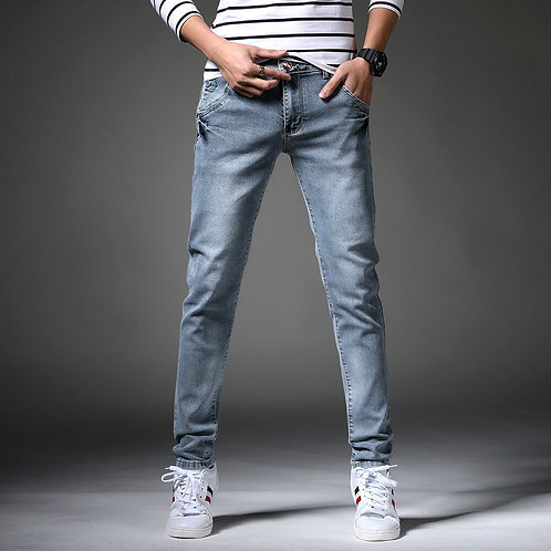Men Classic Skinny Jeans