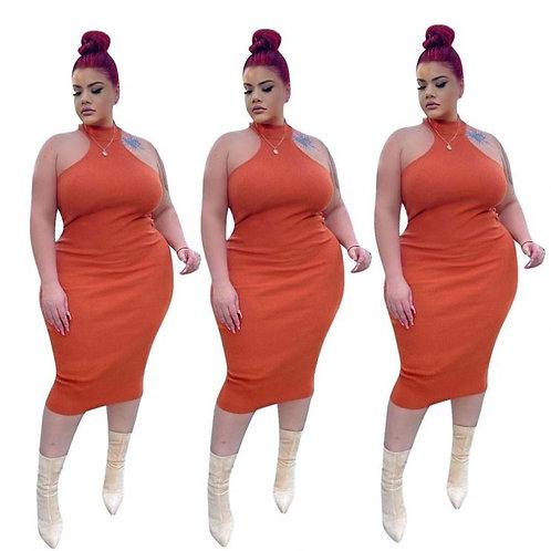 Bodycon Plus Size Vestidos