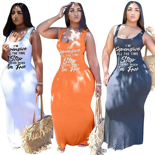 Sexy Streetwear Maxi Dresses