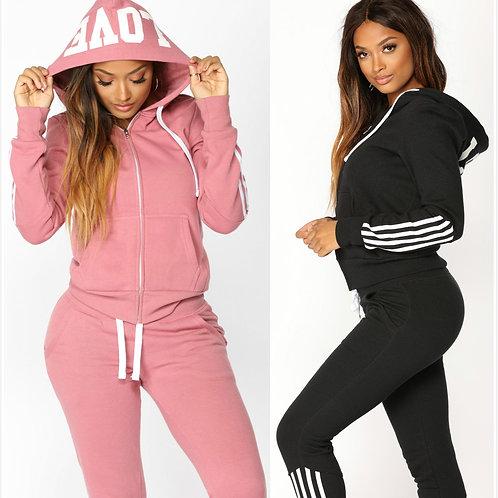 2021 Women Elegant Top and Pants Women Suit