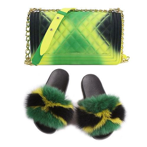 Slippers & Hand Bag Sets