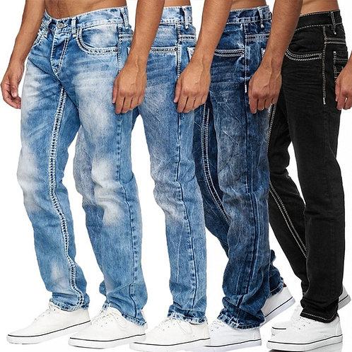 Denim Boyfriend Pants
