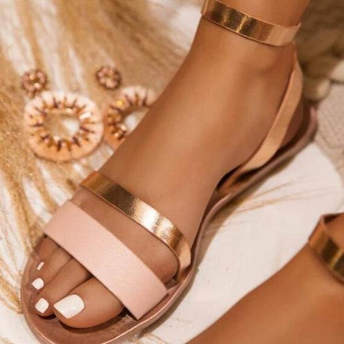 Gladiator Snakeskin Sandals