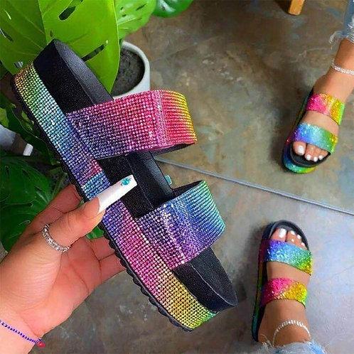 Rhinestone Designer Sandals