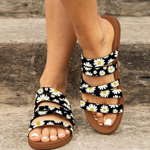 Summer Slip-Ons Sumflower Sandals