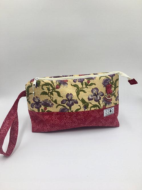 """betwixt bag: """"wild iris garden"""""""