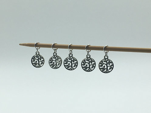 """sublime stitch markers: """"tree of life"""""""