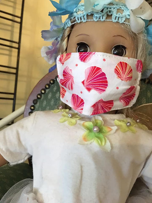 Child & American Doll Sized Face Masks