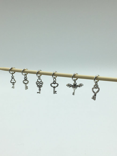 "sublime stitch markers: ""in key"""