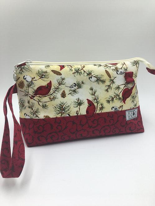 "betwixt bag: ""winter cardinals"""