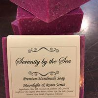Moonlight & Roses Scrub Soap